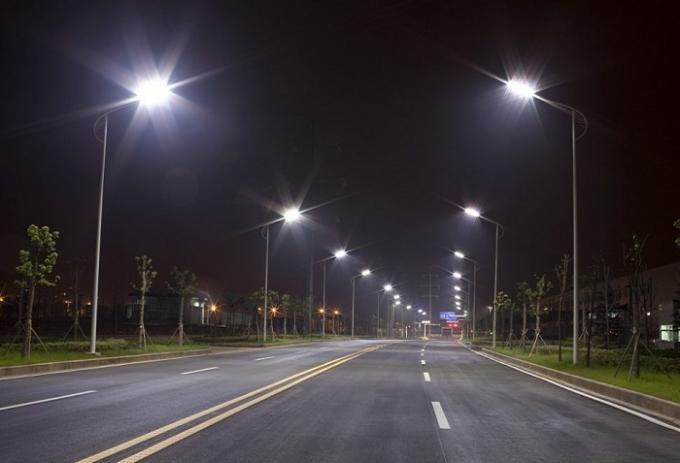12 In 1 LED Street Light Lens Type3 PC Material L50*W50 High Efficiency
