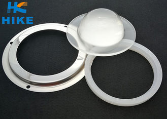 China Optical COB LED Glass Lens 60 Degree 91mm For High Bay Lighting supplier