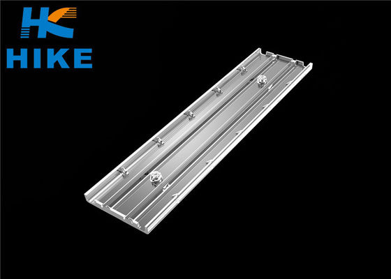 China Double Row Led Light Lens30x90 degree Asymmetric Optical Linear For 3030 LED supplier