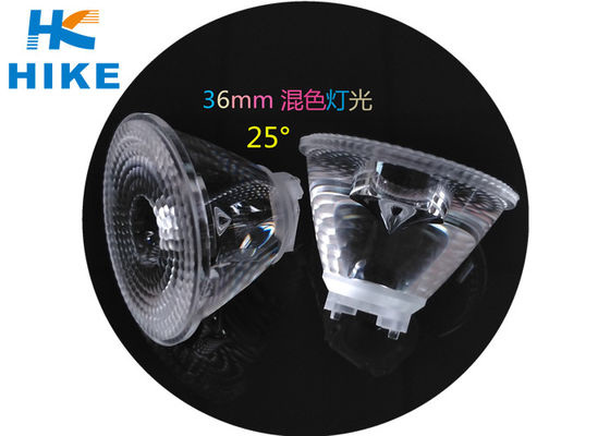 China RGB Mixed Color LED Lamp Lens 25 Degree 36mm For Stage Dancing Lamps distributor